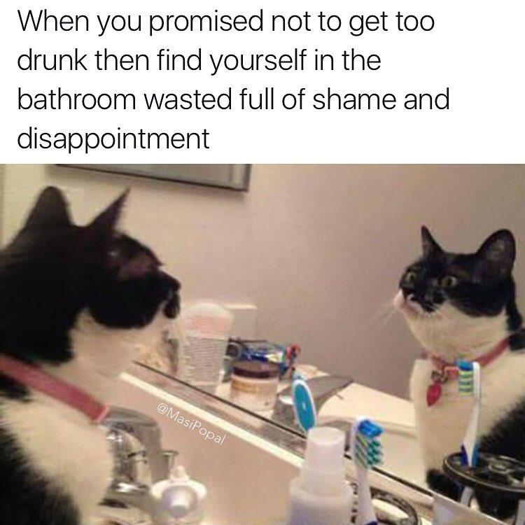 Bathroom Mirror Jokes 20 jokes all drunk people will get - shenhuifu