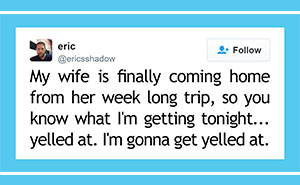 25 Of The Funniest Marriage Tweets Of The Year