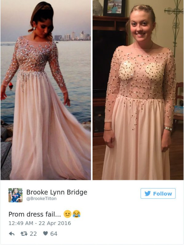 Teens Are Sharing Prom Dresses They Regret Buying Online And Its