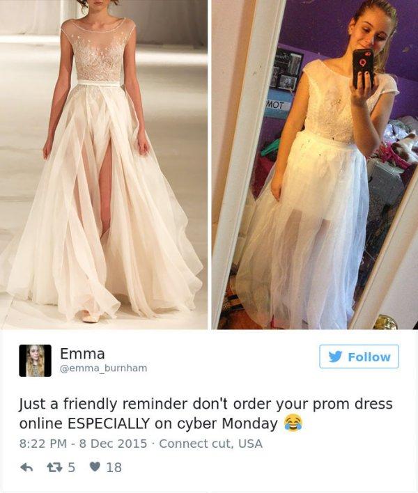 Last Minute Prom Dress