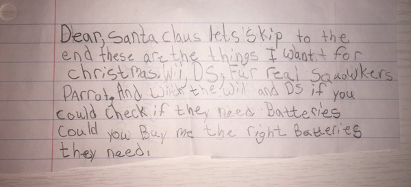 Hilarious Christmas Letters.16 Santa Letters That Are Petty Savage Hilarious And