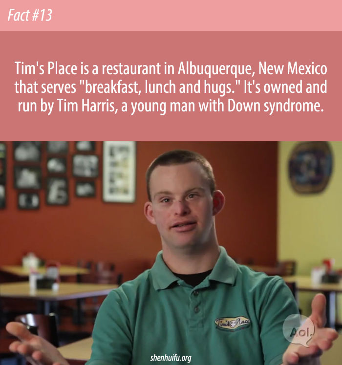 Man With Down Syndrome Owns Restaurant