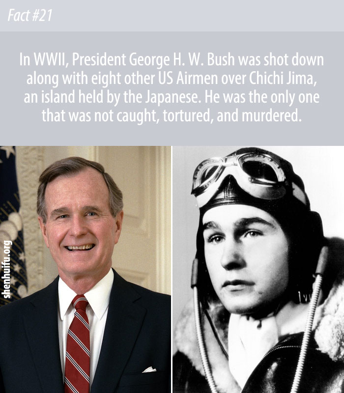 The Chichijima Incident: When George H.W. Bush Was Almost Cannibalized During WW2