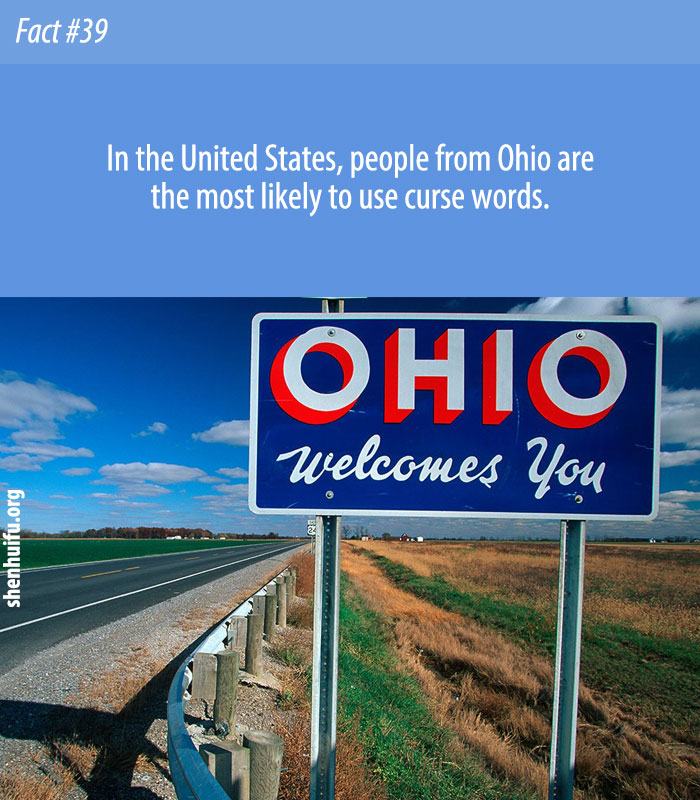 People From Ohio Curse More Than Anyone Else